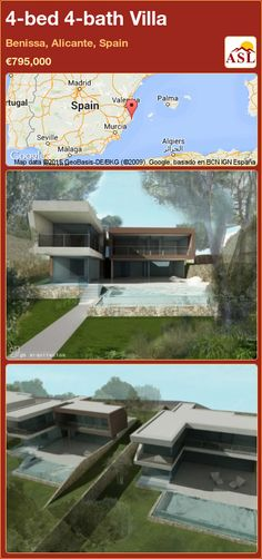 4-bed 4-bath Villa in Benissa, Alicante, Spain ►€795,000 #PropertyForSaleInSpain