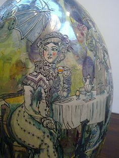 Grayson Perry: Jane Austen in E17, 2009 (detail)