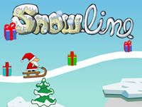 Draw Snow Lines With Your Mouse To Guide Santa The Missing Presents Cool Math Fun For Kids