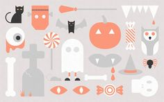 The Halloween Wallpaper Project featuring Spencer Harrison