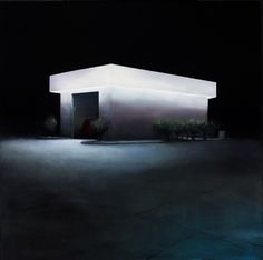 Trevor Young's night paintings