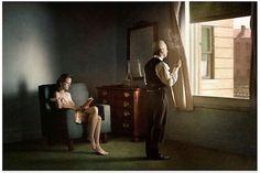 細部を忠実に再現! アメリカ現代絵画の巨匠エドワード・ホッパーの世界を、生身の人間で実写化!