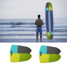 Eva #surfboard #traction pad 2 piece tail pad/deck grip/surf #surfing abrasion ma,  View more on the LINK: 	http://www.zeppy.io/product/gb/2/182034298242/