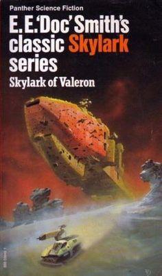 Skylark of Valeron - E. E. 'Doc' Smith - cover by Chris Foss