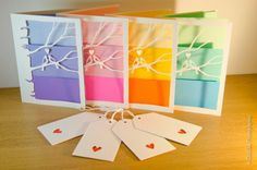 A simple stylish design made from the highest quality watercolour cardstock and multi-coloured paper insert in 4 themes. Purple, Pink, Yellow and Blue/Aqua green.  Say you love someone with a beautiful card that will remain long after Valentines day as a constant reminder of how much they mean to you.  For the Valentines season a FREE gift tag is included in each purchase. This will beautifully tie together your Valentines theme for the day!  350 gsm watercolour card 90gsm paper inserts in…