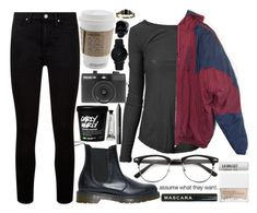 """""""assume"""" by velvet-ears ❤ liked on Polyvore featuring James Perse, adidas, Paige Denim, Dr. Martens, NARS Cosmetics, Holga, L:A Bruket, Larsson & Jennings, D.L. & Co. and 7 For All Mankind"""