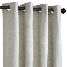 Shimmer Curtain - Silver | Pier 1 Imports