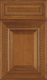 Avignon 5-Piece Cherry Raised Panel Cabinet Door in Pheasant