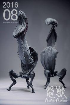 Alien Creatures, Fantasy Creatures, Fantasy Landscape, Fantasy Art, Character Art, Character Design, Alien Concept Art, Creature Concept, Aliens