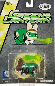 Green Lantern 25 MiniFigure Kidrobot x DC Universe Labbit Series *** Read more reviews of the product by visiting the link on the image.