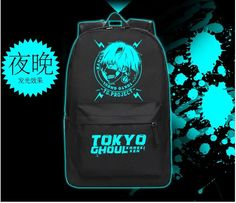Japan cartoon unisex Luminous Tokyo Ghoul backpacks bags Harajuku preppy lovers noctilucent Kaneki Ken backpacks schoolbags bag  Item Type: BackpacksBackpacks Type: External FrameCarrying System: Air Cush...   https://nemb.ly/p/N1_HxWRMdW Happily published via Nembol