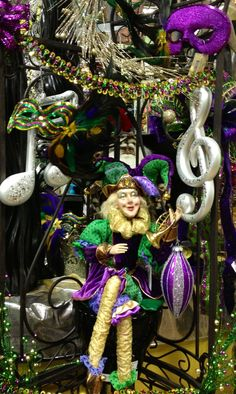 Mardi Gras Decoration Ideas