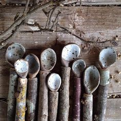 ottimade on Instagram Ceramic spoons with stick handles so beautiful