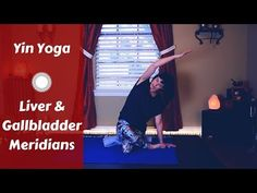 Yin Yoga for the Liver & Gallbladder Meridians {50 mins} | Liver Health | Side Body, Legs, Hips - YouTube