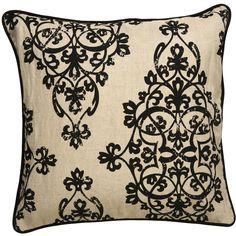 Bruxelle Scroll Throw Pillow