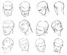 how to draw the male head drawing portrait 2014 (4)