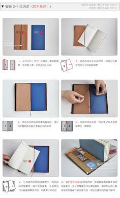 送笔套 日本Midori Traveler's Notebook牛皮笔记本 个性压印DIY-tmall.com天猫