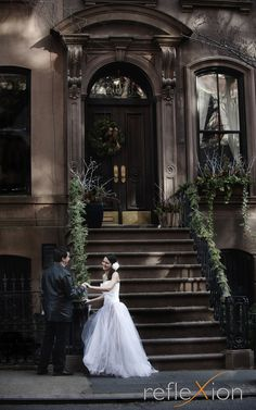 NYC wedding Shoot, Quite a Location