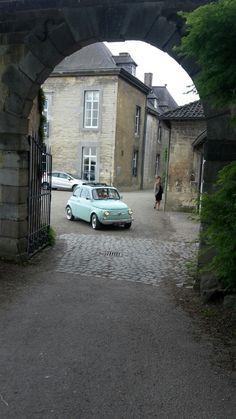 Touren naar Neercanne in Limburg Fiat Cinquecento, Fiat 500c, Volkswagen, Fiat Cars, Steyr, Future Car, Travel Style, Cool Cars, Dream Cars