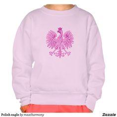 Polish eagle pullover sweatshirt