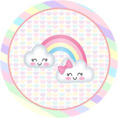 Rainbow Parties, Rainbow Birthday Party, Rainbow Theme, Girl Birthday, Baby Shawer, Baby Toys, Imprimibles Baby Shower, Moldes Para Baby Shower, Cloud Party