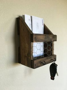 Nice 30+ Mail Holder on the Wall Ideas https://pinarchitecture.com/30-mail-holder-on-the-wall-ideas/