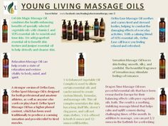 Young Living Massage Oils, F.I.R.S.T. is proud to use them on our clients and in our office cleaning!
