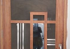 Homemade door design is or your luxury houses, you can choose fancy entrance doors prepared with glass grills or different framing. Door Design Photos, Home Door Design, Glass Panel Door, Glass Panels, Room Doors, Entrance Doors, Yui, Wooden Doors, Wood Working