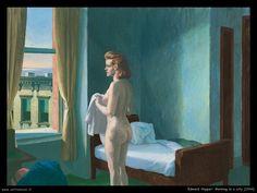 Morning in a City -  Edward Hopper - 1944