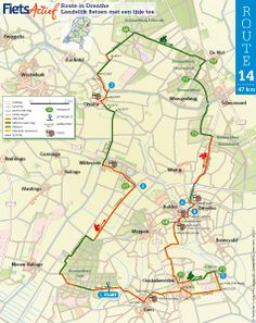 Routes in Drenthe
