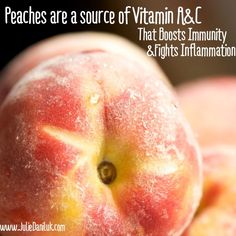 Peaches Boost the Immune System
