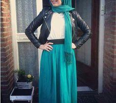 Winter #hijab style #hijabfashion