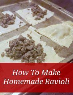 How to Make Homemade Ravioli the Prepper Way