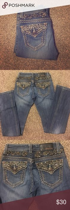 Grace in LA Jeans! NEVER WORN! They are too small for me now! Grace in LA Jeans Boot Cut