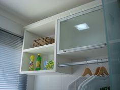 Cupboard idea for laundry