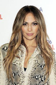 Jennifer Lopez Long Straight Cut - Long Hairstyles Lookbook - StyleBistro