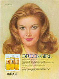 9 #Shampoos from the 70's that no longer exist: who can forget the sophisticated Breck Girl campaign? Everyone knew that Agree was the solution for oily hair. The commercials so entertaining.
