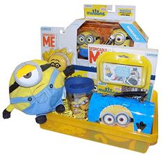 Despicable Me Minion Ultimate Jumbo Gift Basket - Perfect for Easter, Birthday, Get Well, or Just Because Artistix Designs Gift Baskets http://www.amazon.com/dp/B01BHNXHI0/ref=cm_sw_r_pi_dp_UTL4wb09X7ZKN
