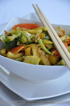 Due bionde in cucina: verdure ALL'ORIENTALE