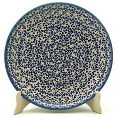 """10"""" Dinner Plate - Blue Thicket"""