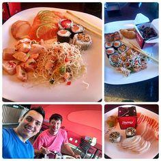 Depois da cadimia.... Almoço japa!!! Kanpai express é o melhor restaurante japa que estou frequentando em Gyn... Comida deliciosa... O melhor shimeji que já comi !!!! #goiania #comidajaponesa #japonesefood #kanpaiexpress #kanpai #sushi #sashimi #shimeji #tataki #ceviche #comidaboa by afonso_87