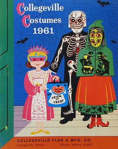 Collegeville Costumes 1961 - catalog cover