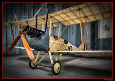 2699 RAF BE2C Duxford England