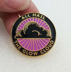 TopatoCo: All Hail the Glow Cloud Lapel Pin