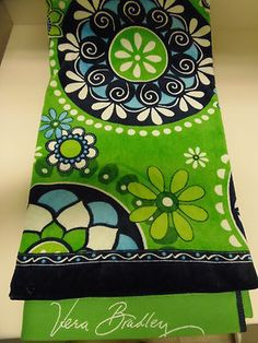 VB Towel in Green Cupcakes - retired