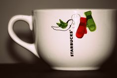 I'm addicted to Starbucks Christmas mugs... can't get enough!
