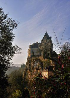 Castle of Montfort, Dordogne_ France