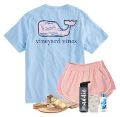 """""""My dad really needs to stop putting off going to the store"""" by madelyn-abigail ❤ liked on Polyvore featuring Vineyard Vines, Jack Rogers and Kate Spade"""