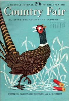 John Hanna, Australian cover-illustrator of Country Fair magazine