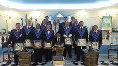 RITO    BRASILEIRO   DE MAÇONS ANTIGOS LIVRES E ACEITOS - MM.´.AA.´.LL.´.AA.´.: Câmara do Meio para receber o novo mestre maçom......